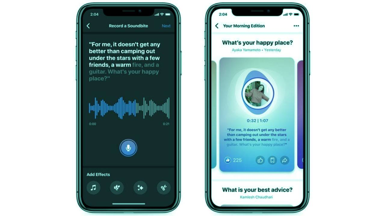 FACEBOOK LAUNCHES LIVE AUDIO ROOMS